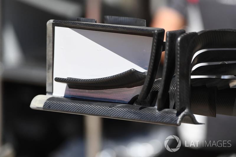 Alerón delantero del Haas VF-17