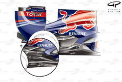 Red Bull RB7 exhaust