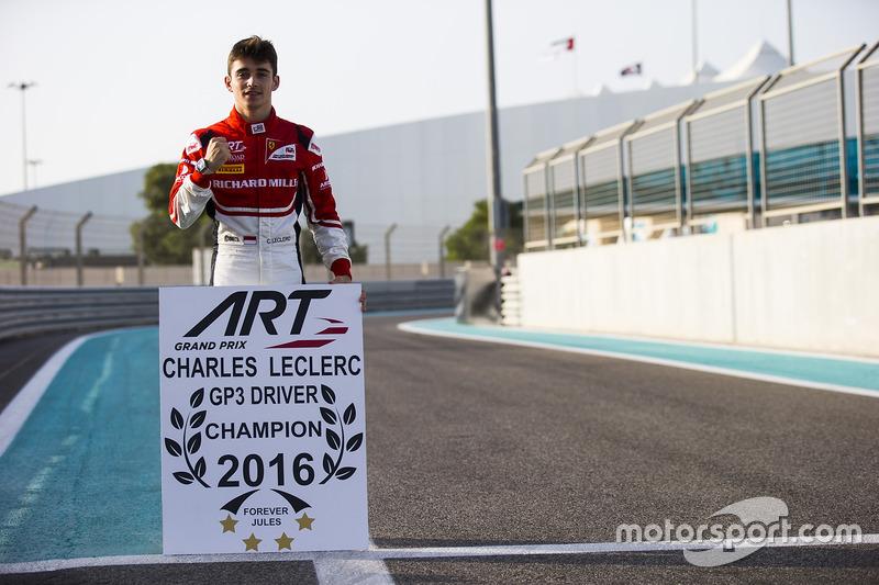 Eerste back-to-back GP3/F2-kampioen