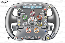 Ferrari F60 steering wheel (Massa)