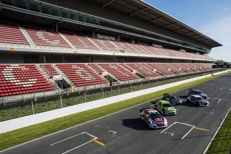 Autos für die Saison 2017 der Rallycross-WM