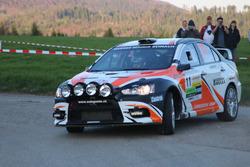 2017, Etappe 1, Ruedi Schmidlin, Erich Götte, Mitsubishi Lancer Evo X R4, Ecurie Basilisk