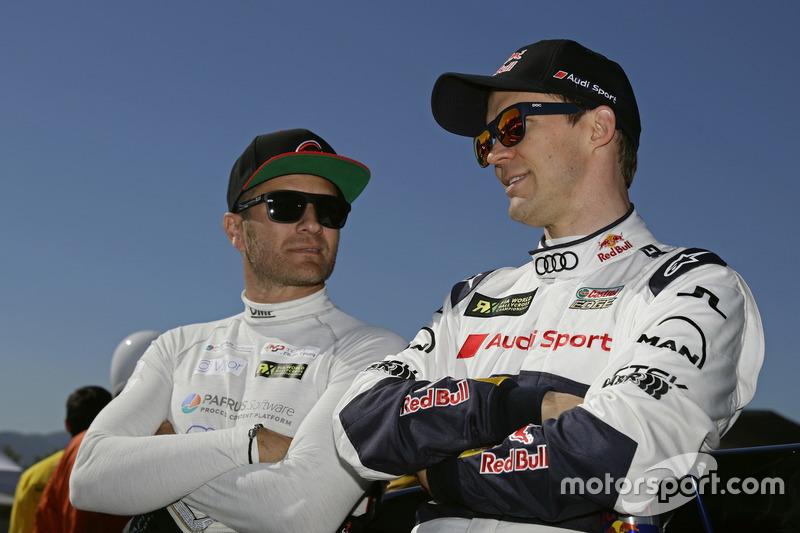 Timo Scheider, MJP Racing Team Austria, Ford Fiesta ST, Mattias Ekström, EKS, Audi S1 EKS RX Quattro