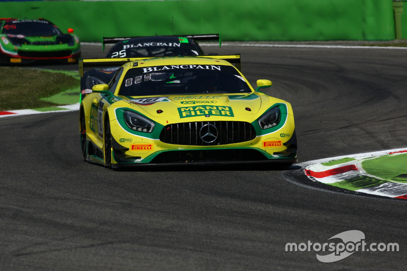 #48 MANN-FILTER Team HTP Motorsport, Mercedes-AMG GT3: Kenneth Heyer, Indy Dontje, Patrick Assenheimer