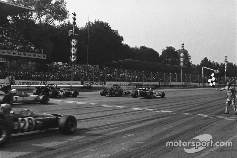 6. GP da Itália, 1971: Peter Gethin (BRM) em 1h18min12s60 (242.616 km/h)