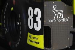 Charlie Kimball, Chip Ganassi Racing Honda detail