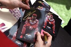 Автограф Кими Райкконена, Ferrari