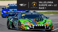 Live: Europe - Vallelunga - Gara 1 (Am + Lc)