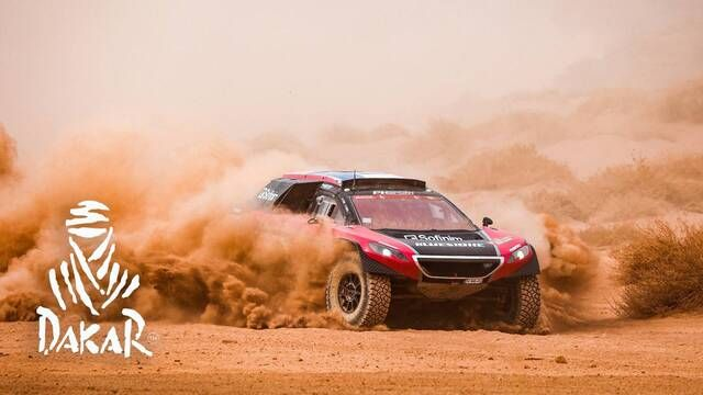 Dakar-Highlights 2021: Etappe 10 - Autos