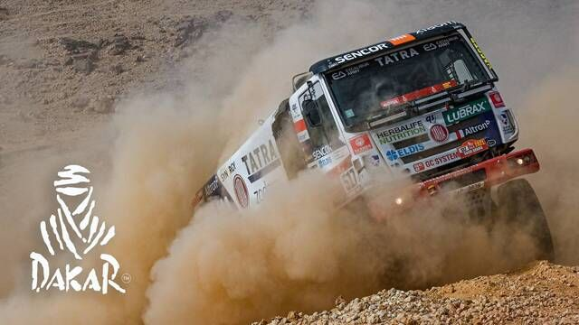 Dakar-Highlights 2021: Etappe 5 - Trucks