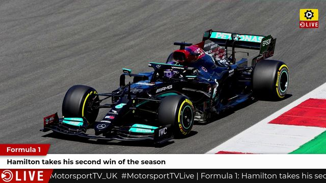 F1: Hamilton takes his second win of the season