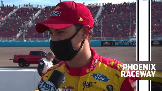 Joey Logano: Second place 'hurts' at Phoenix Raceway