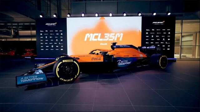 McLaren MCL35M Launch highlights