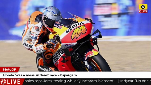 MotoGP: Honda 'was a mess' in Jerez race - Espargaro