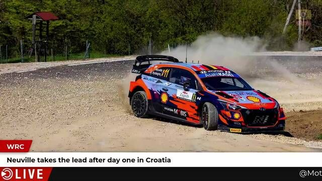 Rally Croatia: Day 1