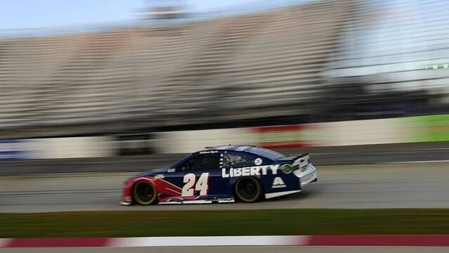 William Byron: Drivers have to 'adapt' with no Martinsville grass