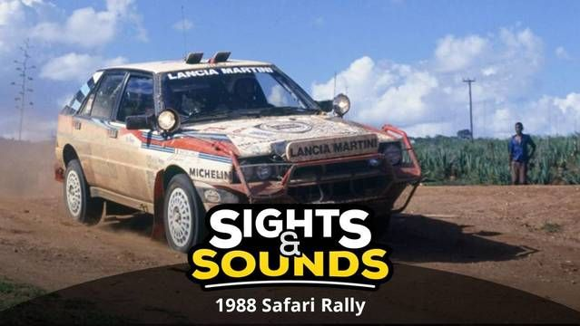 Sights & Sounds: 1988 Safari Rally