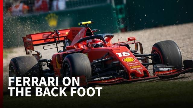 What went wrong for Ferrari in Australia