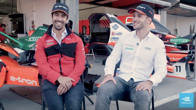 Five years together: Lucas di Grassi and Daniel Abt