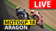 LIVE RACE Grand Prix Aragon | MotoGP 18