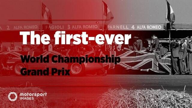 Grand Prix Greats – The first-ever World Championship Grand Prix