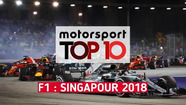 Top 10 - Grand Prix de Singapour
