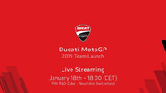 Live: Ducati MotoGP 2019 launch