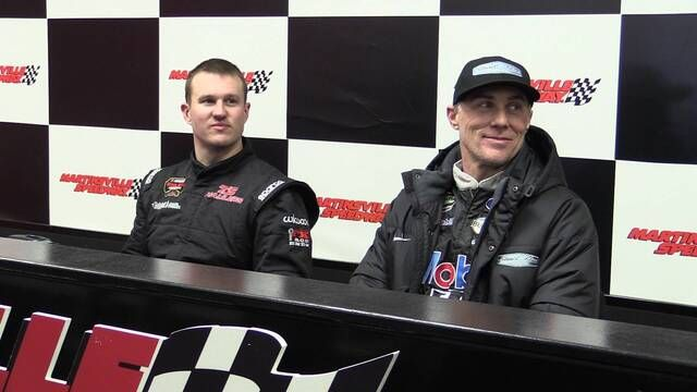 Ryan Preece and Kevin Harvick talk about racing at Martinsville Speedway