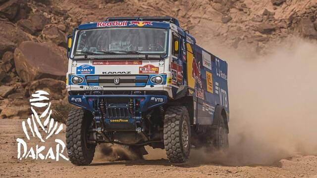 Dakar-Highlights 2021: Etappe 12 - Trucks