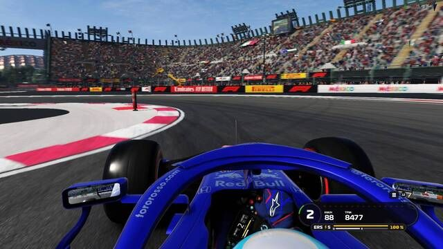 A lap of Autódromo Hermanos Rodríguez in F1 2019