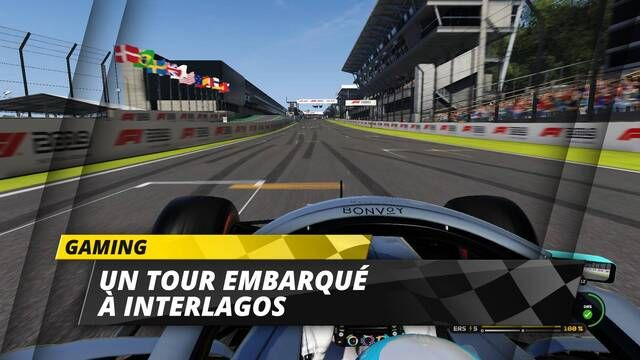 Un tour du circuit d'Interlagos dans F1 2019