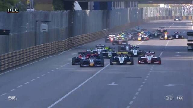 Macau GP - F3 World Cup: race start