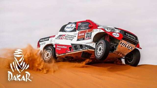 Rallye Dakar 2020: Highlights Autos Etappe 6