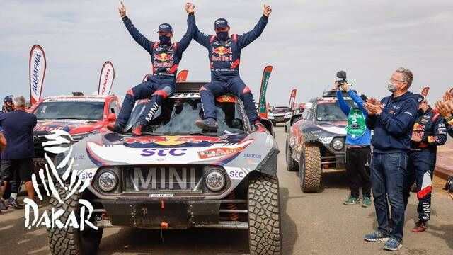 Dakar-Highlights 2021: Etappe 12 - Autos