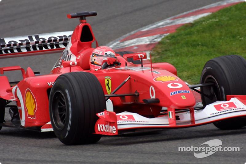 Schumacher's perfect race