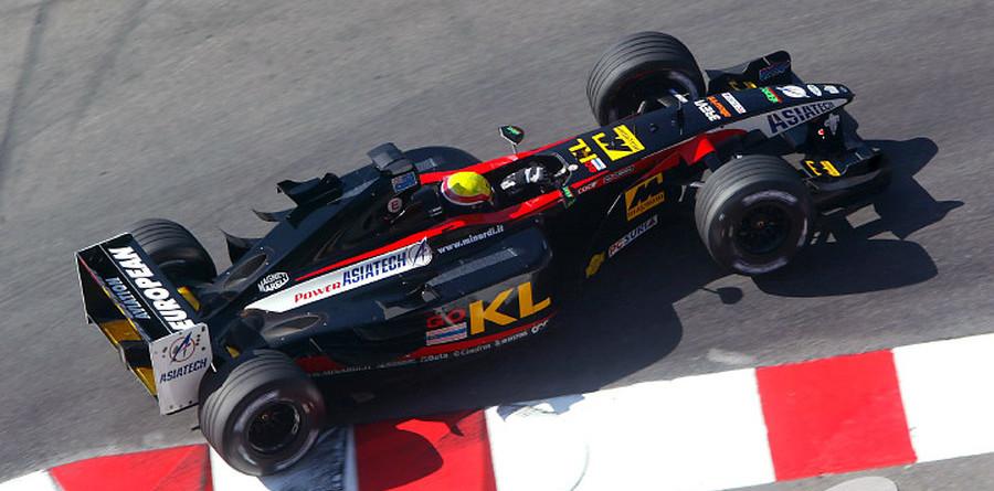 Webber satisfied with Minardi