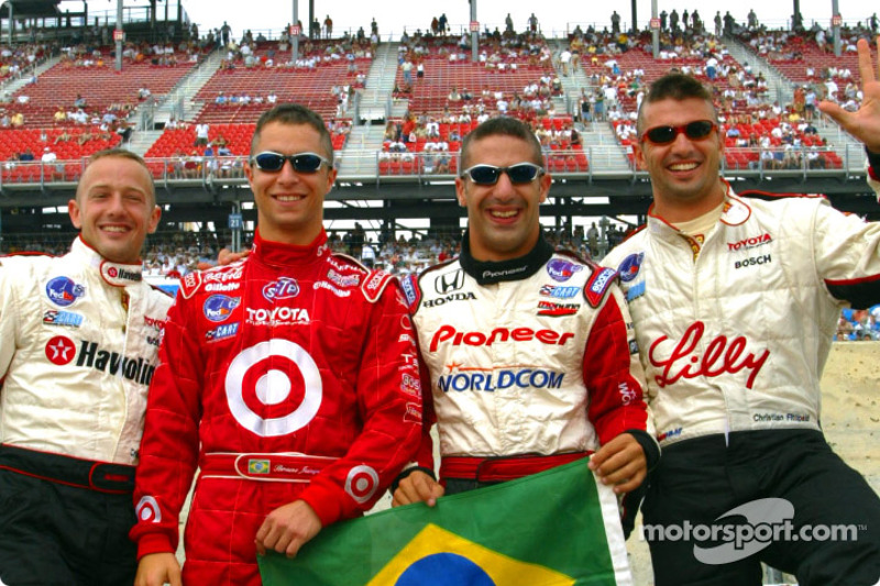 CHAMPCAR/CART: Chicago: Team Brazil - racing and soccer