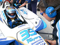 CHAMPCAR/CART: Tagliani fastest in practice at Fontana