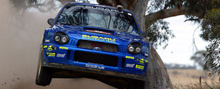 WRC Tommi Makinen excluded from Rally Australia