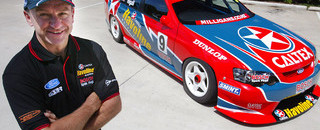 Supercars New Year unveiling of Stone Brothers Racing 2003 car, driver