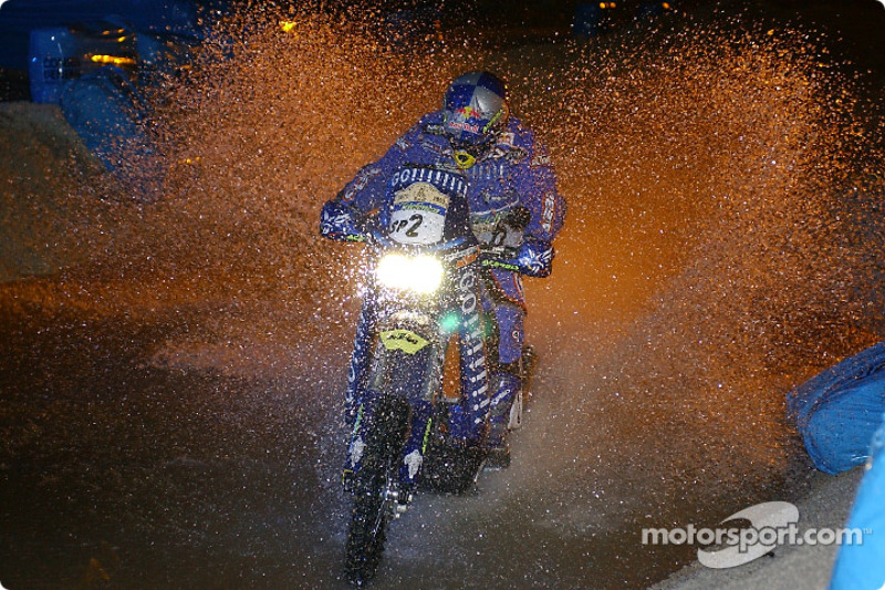 Dakar: Stage one Marseille to Narbonne notes