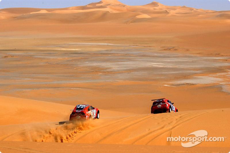 Dakar: Mitsubishi stage eight report