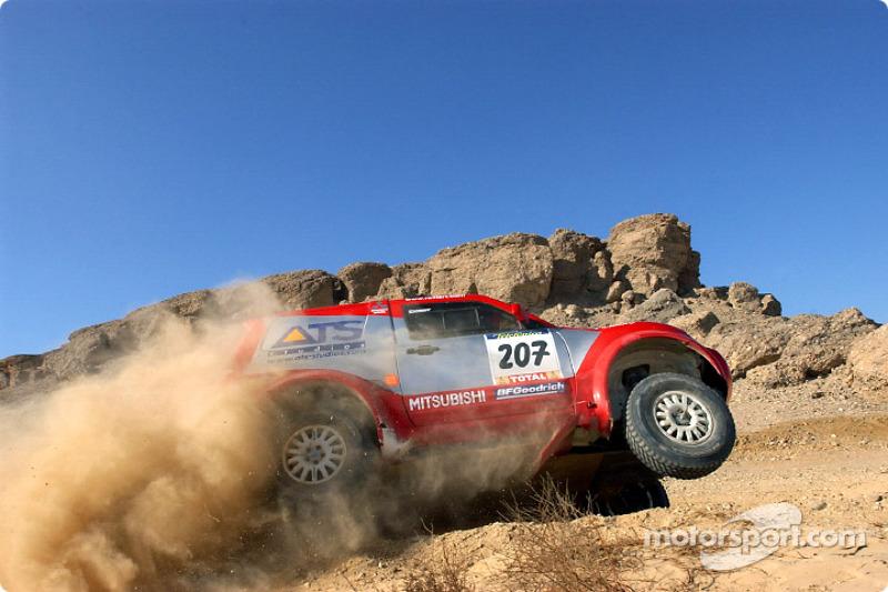 Dakar: Mitsubishi stage 15 report