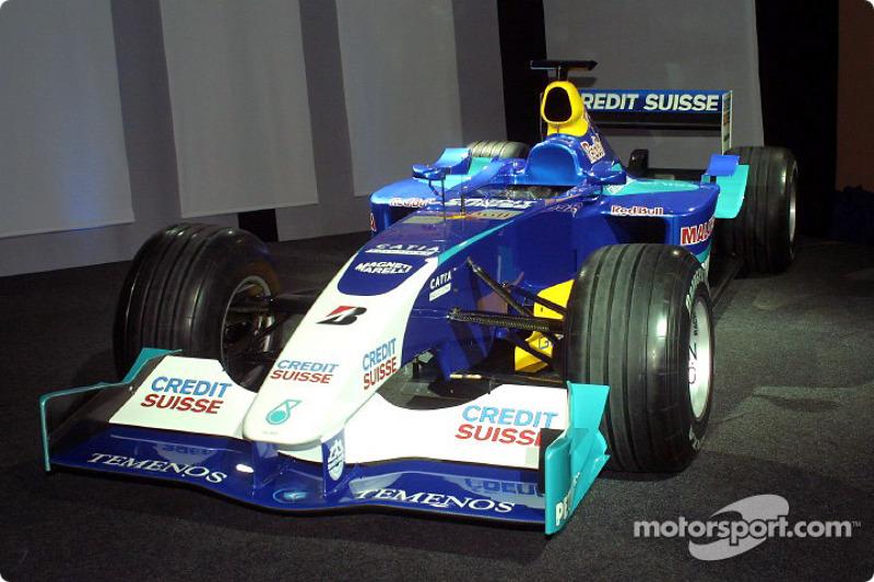 Sauber launch press release