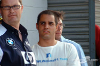 Montoya won't move over for Ralf