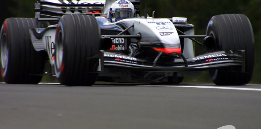 Coulthard top in German GP Friday practice