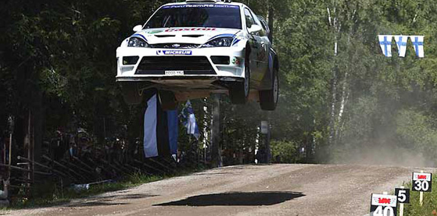 Martin ends Day 2 with clear lead in Rally Finland