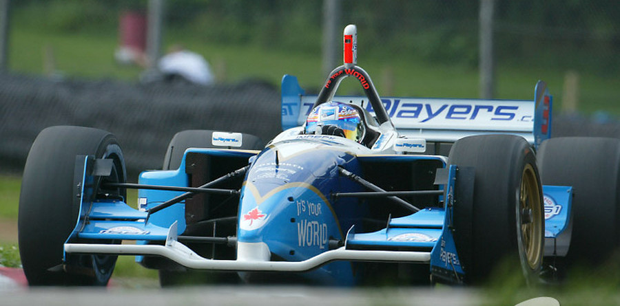 CHAMPCAR/CART: Tracy takes pole but Hunter-Reay steals show