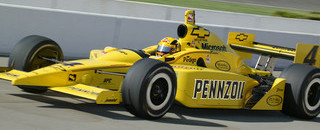 IndyCar IRL: Hornish: The hare at Fontana