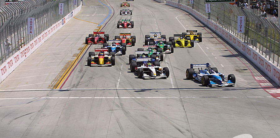 CHAMPCAR/CART: Sitting in the stands at Long Beach